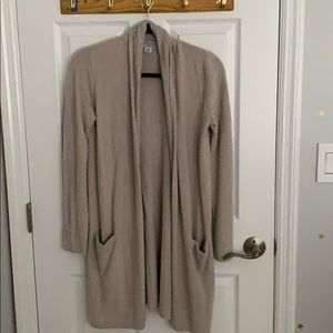 Barefoot Dreams chic light cardigan XS in grey